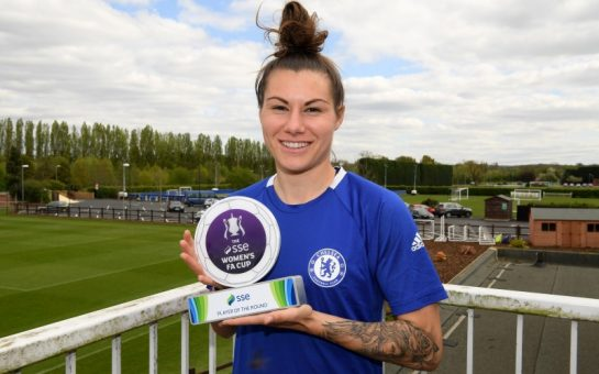 Chelsea's Ramona Bachmann reflects on first season in English football