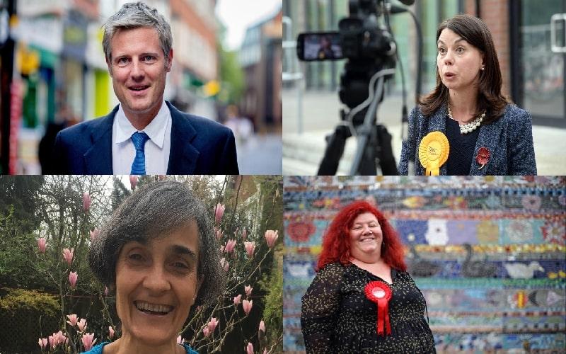 Richmond Park General Election candidates 2019