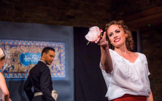 Bronwen Stephens-Harding Rogue Opera performing in Carmen