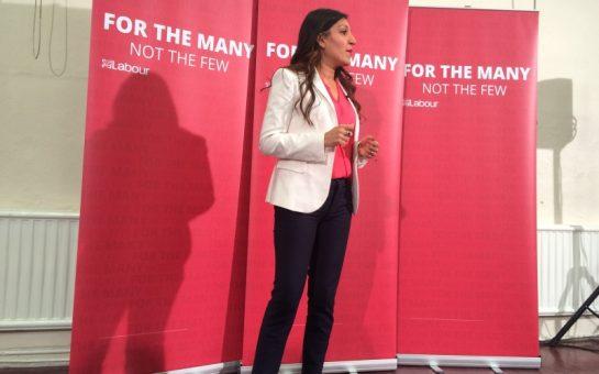 Rosena Allin-Khan speaks at Tooting Neighbourhood Centre
