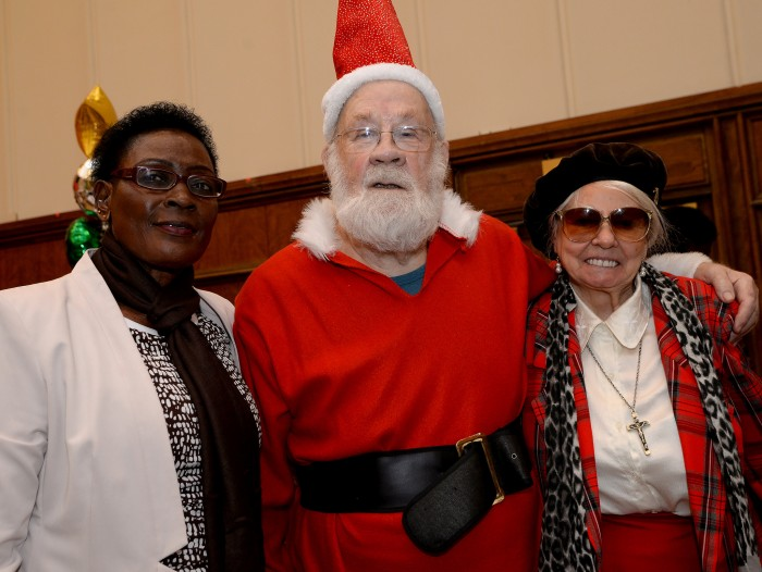 Santa and pensioners Hammersmith & Fulham Council