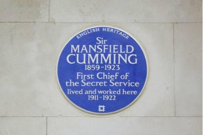Sir Mansfield Cumming plague