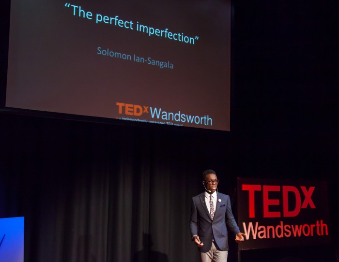 Solomon @ Tedx landscape wide Charlie Round-Turner