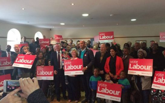 Steve Reed campaign launch