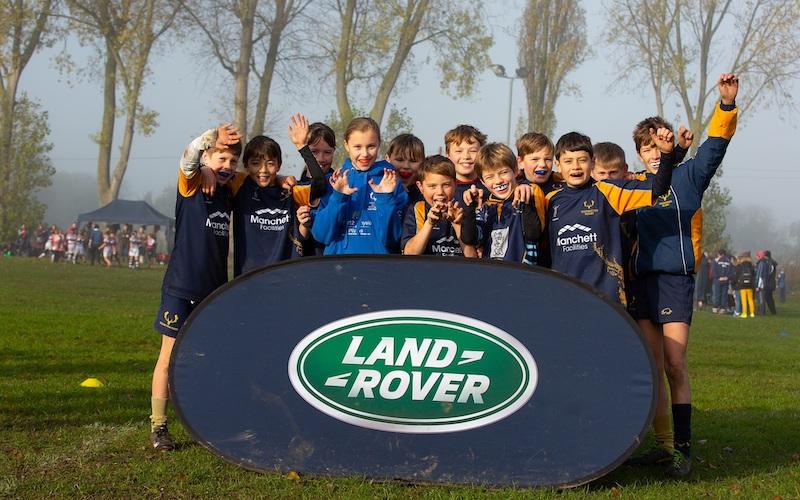 Teddington RFC juniors celebrate