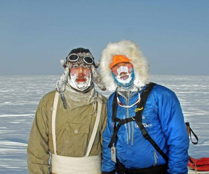 Turner Twins Greenland ice cap brothers together