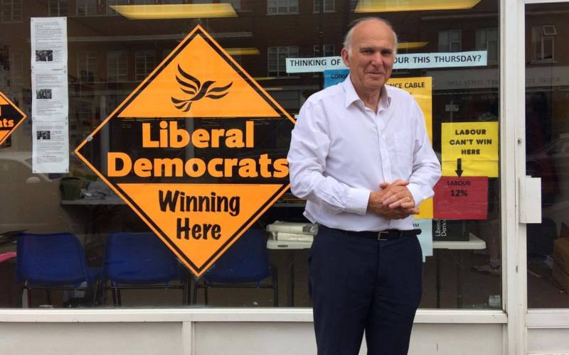 Vince Cable constituency office