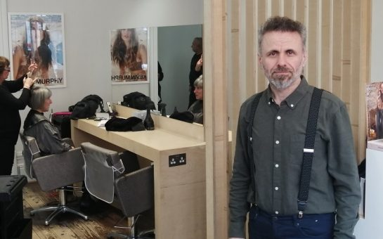 Joseph in his Twickenham salon