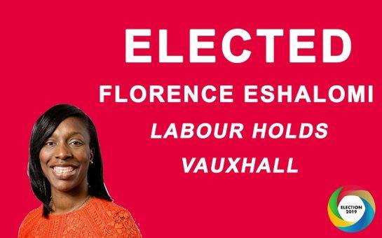 Florence Eshalomi wins