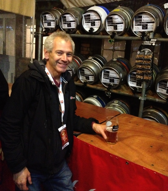 Wandsworth Beer Festival Brewer Director Adrian Thomas