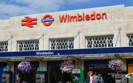 Trespasser on tracks outside Wimbledon Station