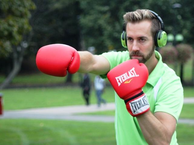 Wireless fitness Matt Boxing