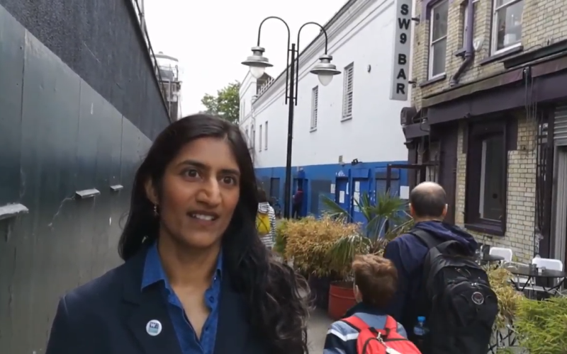 Women's Equality Party campaign in Brixton as minor parties prepare for general election