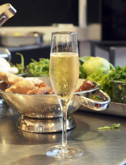 champagne pasta making class