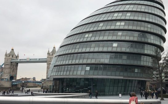 london city hall exterior