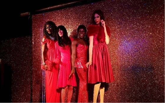 BAME drag artists perform at Batty Mama's Dreamgirls