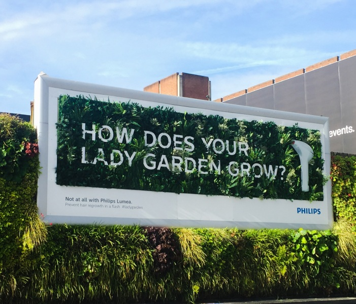 how does your lady garden grow campaign