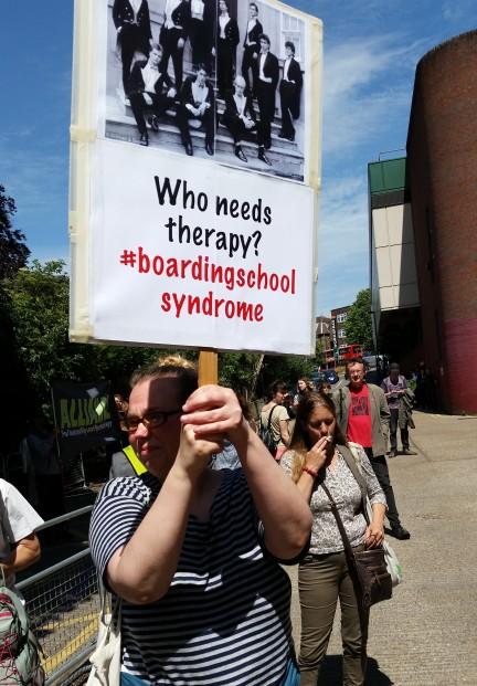 jobcentre protest placards