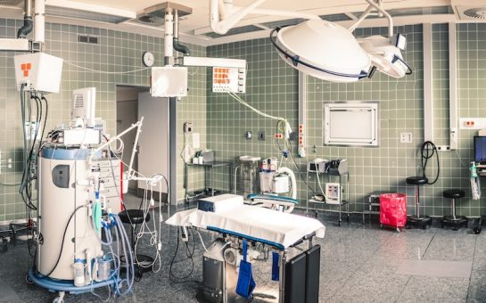 A hospital operating theatre