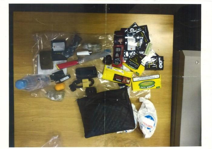 prison smuggled items Met
