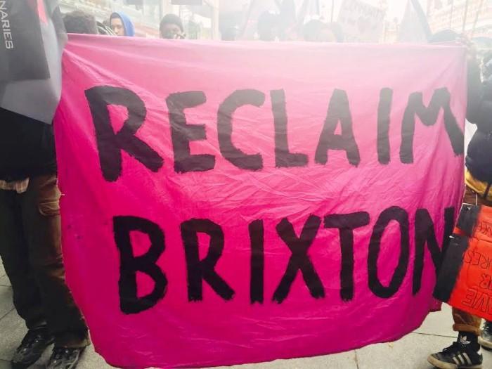reclaim brixton flag