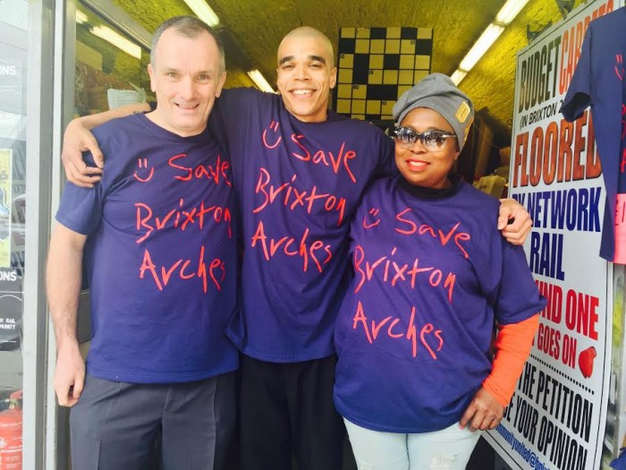 reclaim brixton save brixton arches protesters