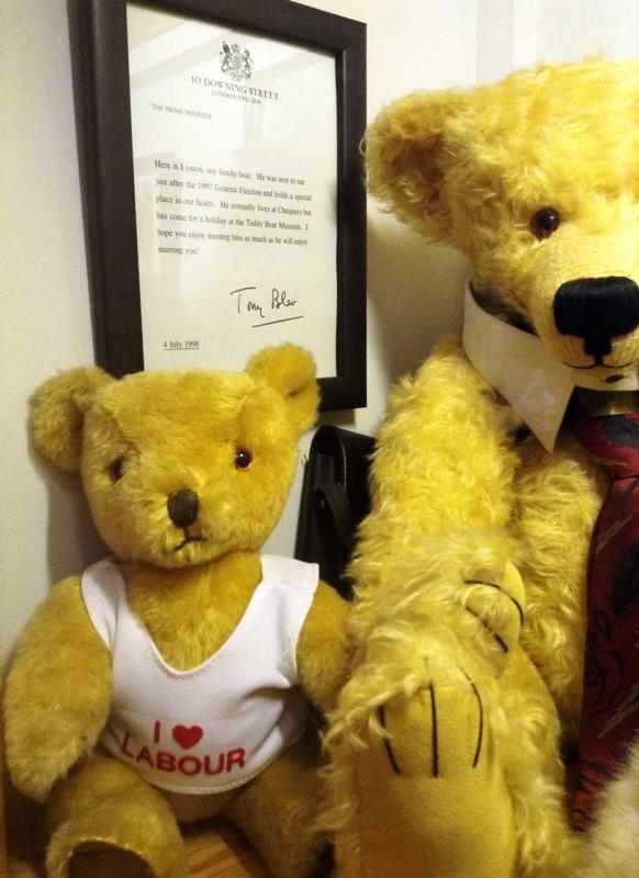 teddy bear tony blair
