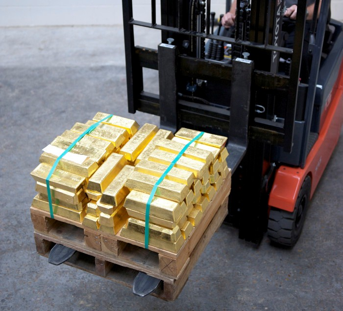 tonne of gold Met Police