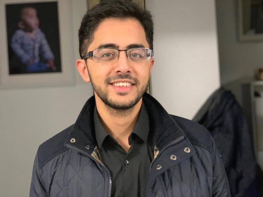 Adeel Shah, 25, one of the UK's youngest imams