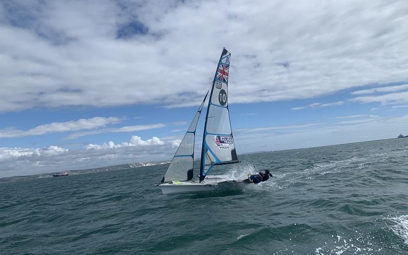 Ellie Keers sailing Wimbledon