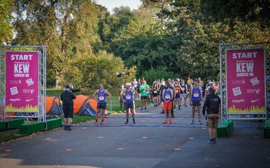 Kew Gardens fun run