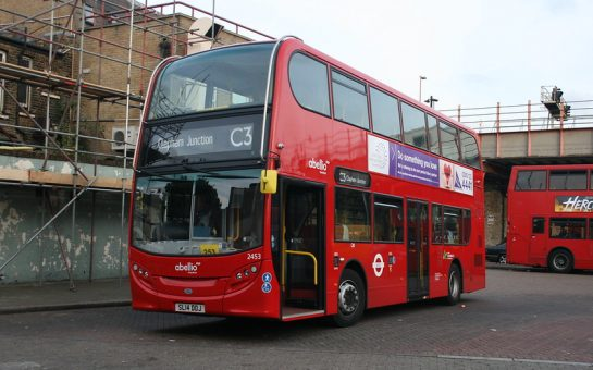 Bus on C3 Route