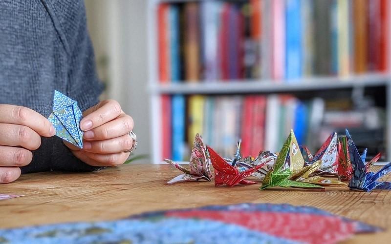 Origami Cranes charity