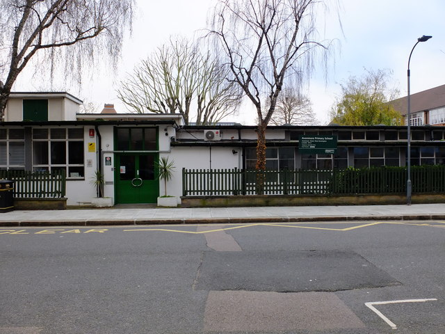 Avonmore Primary from the street. The school is said to be in need of refurbishment.