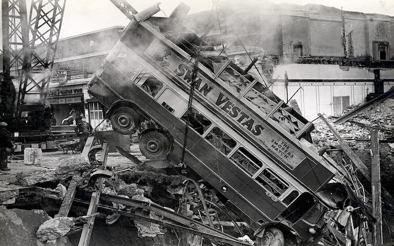 balham blitz bomb bus