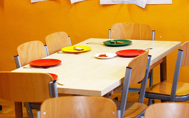 School lunch room