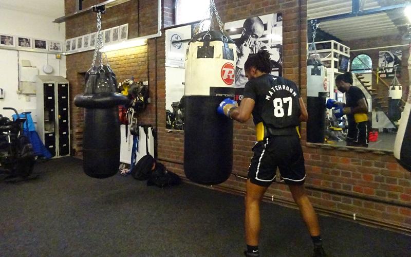 Craig Richards back in training