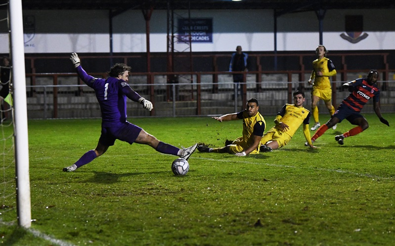 hampton and richmond equaliser against hornchurch