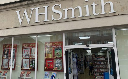 Outside of WHSmith Twickenham
