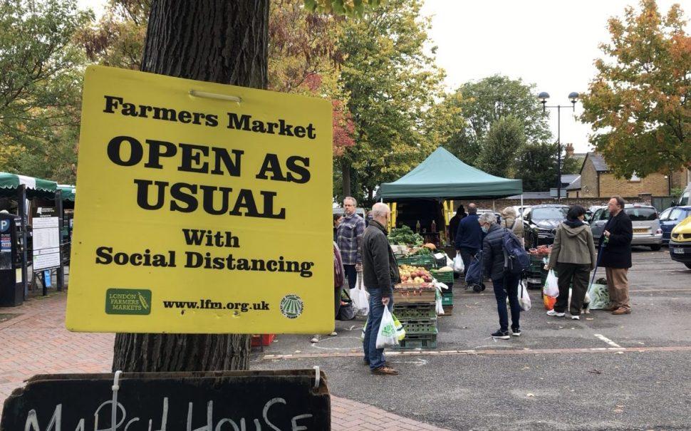 London Farmer's Markets open as usual