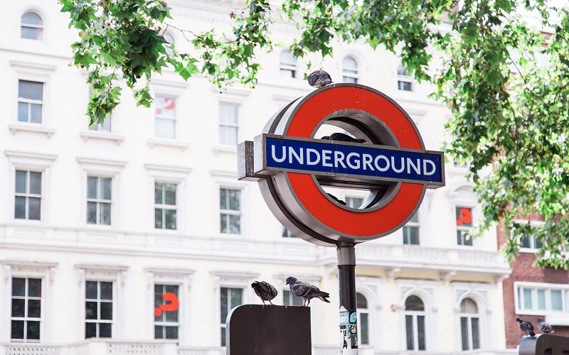 The London Underground Sign
