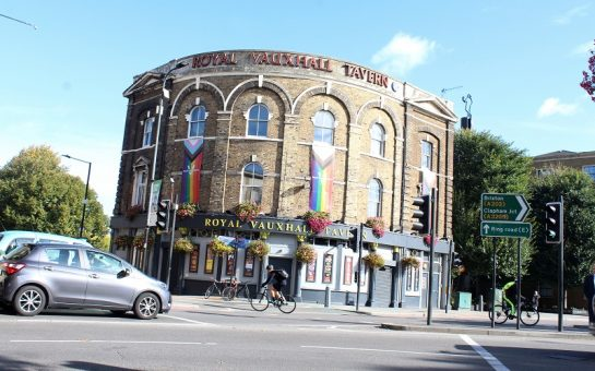Royal Vauxhall Tavern in the sunshine.