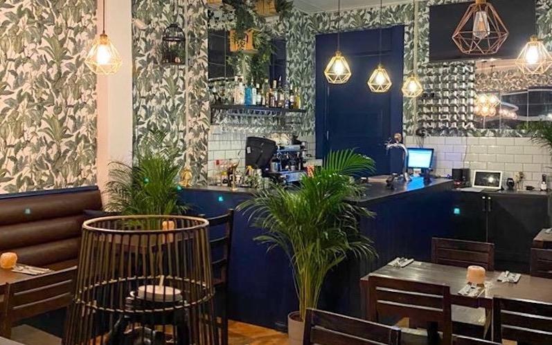 Salty Restaurant Interior