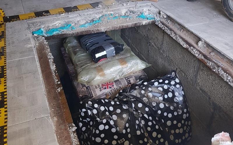 feltham book theft underground hiding place