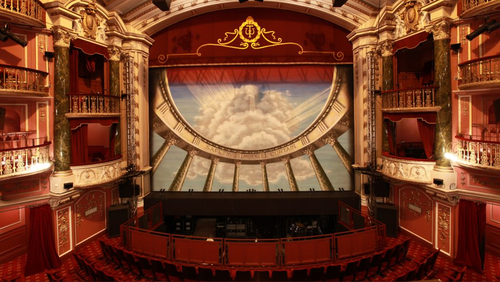The New Wimbledon Theatre is one haunted venue to visit in south-west London this Halloween