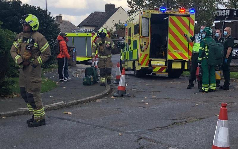 Fire Brigade attends the scene