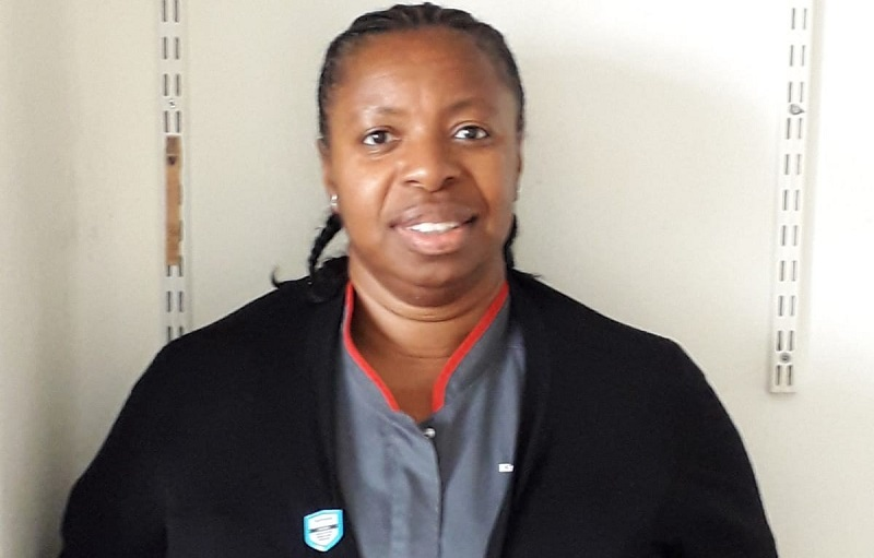 frontline nurse felicia kwaku who was awarded an OBE