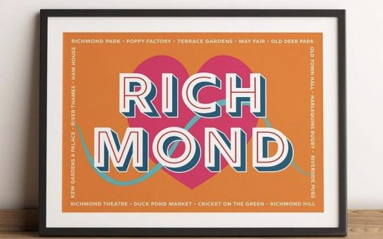 Richmond print by Maxine Stinton