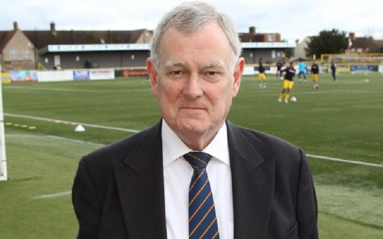 sutton united chairman bruce elliott