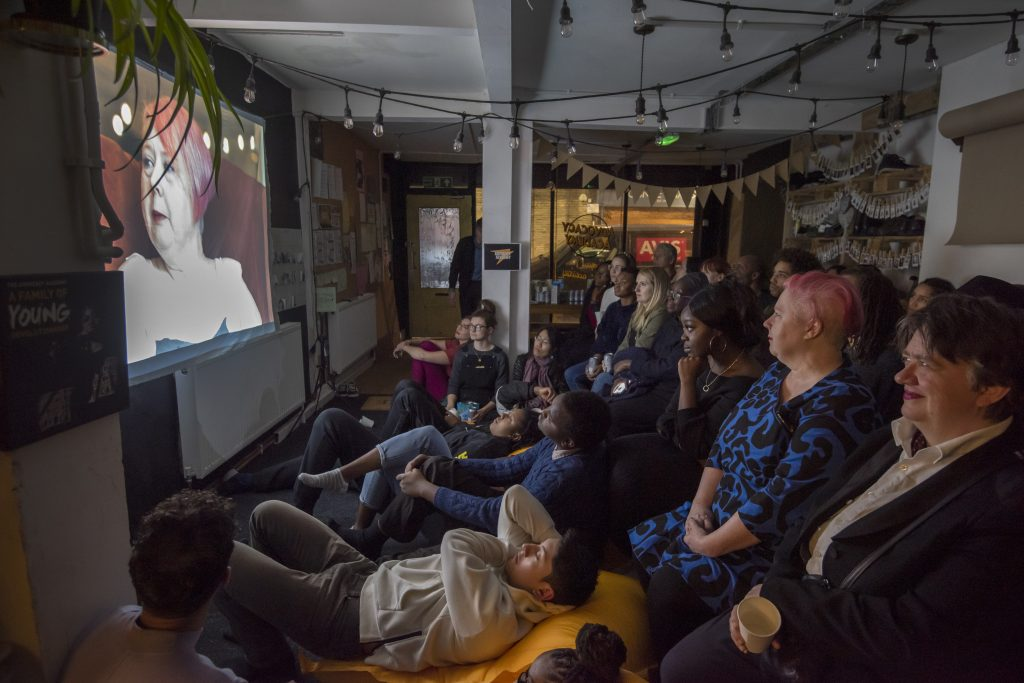 Multiple screenings of the film took place in 2019, gathering Brixton citizens and The Advocacy Academy young people.